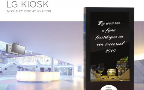 Video Wall & Digital Signage - kiosk cover