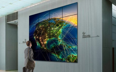 Video Wall & Digital Signage - lcd wall cover