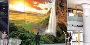 LG Digital Signage Video Wall - large01