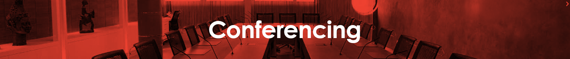 Conferencing - page title Conferencing