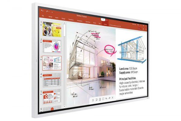 Samsung Flip 2 (WM65R) - 1562650647319 b LH65WMRWBGCXEN 010 L Perspective White