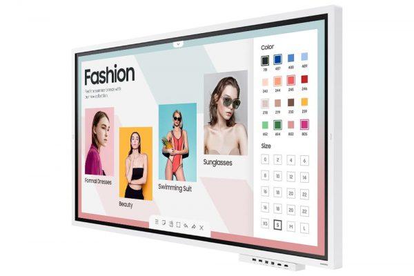 Samsung Flip 2 (WM65R) - 1562650678995 b LH65WMRWBGCXEN 011 R Perspective With Tray White