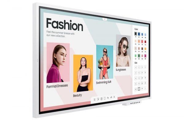 Samsung Flip 2 (WM65R) - 1562650712538 b LH65WMRWBGCXEN 012 L Perspective With Tray White
