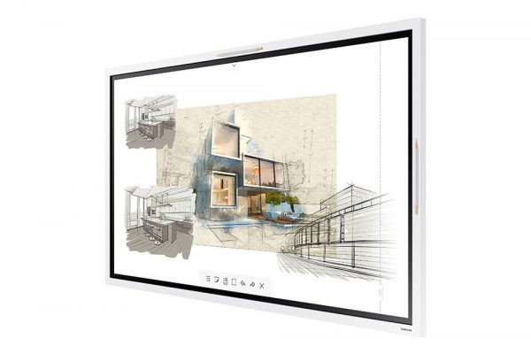 Samsung Flip 2 (WM55R) - 1568003887408 b WM55R W 005 R Perspective White