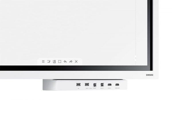 Samsung Flip 2 (WM55R) - 1568005033381 b WM55R W 013 Detail3 White