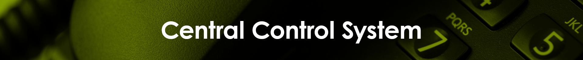 Central Control System - page title Central Control System
