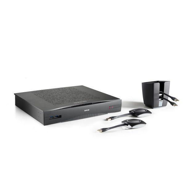 Barco ClickShare CSE-800 - CSE 800 no antennas tray 4 buttons right jpg