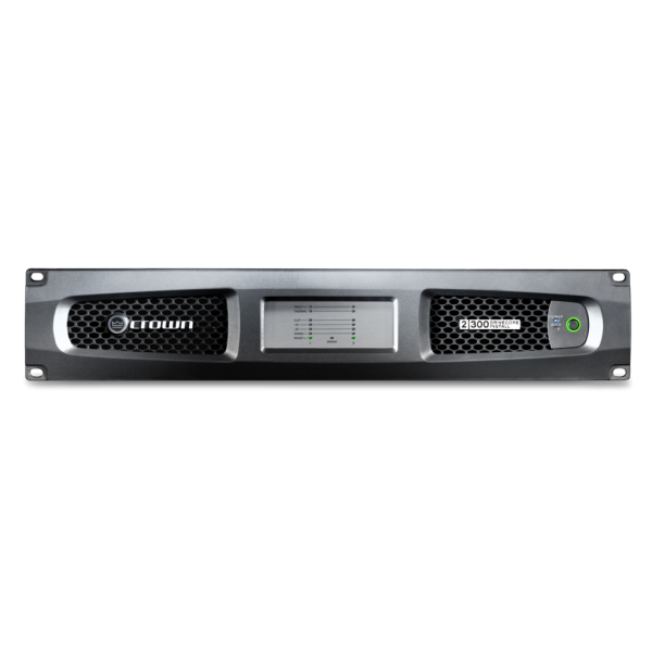 Crown DCi 2 300 power amplifier - DCi Analog 2 300 front no top shadow full width