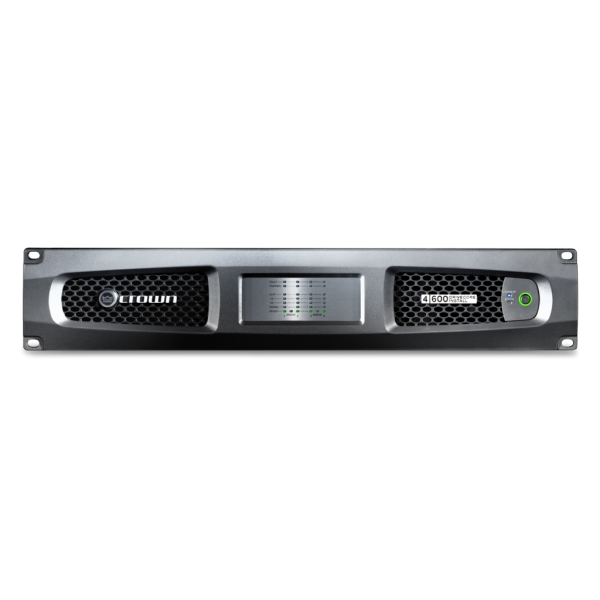 Crown DCi 4|600 Analog Power Amplifier - DCi Analog 4 600 front no top shadow full width 600x144 1