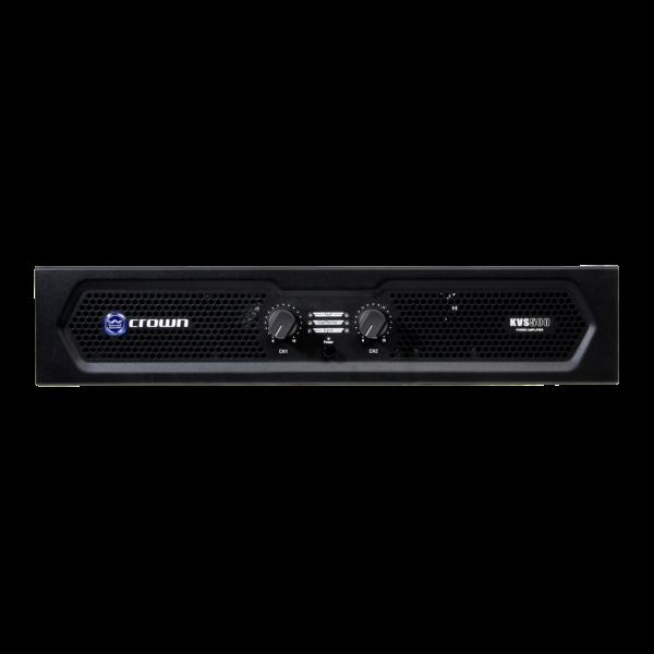 Crown KVS700 Power Amplifier Power amplifier - KVS500 front panel full width