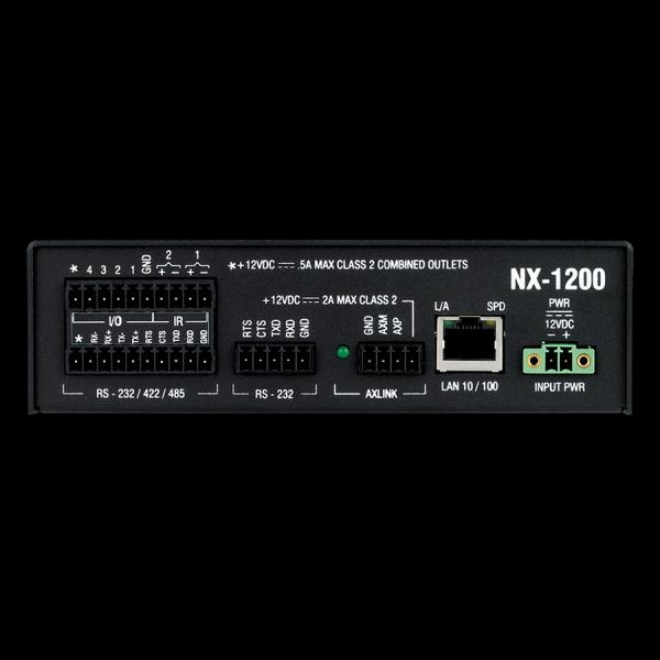AMX NX-1200 NetLinx NX Integrated Controller - NX 1200 Rear original