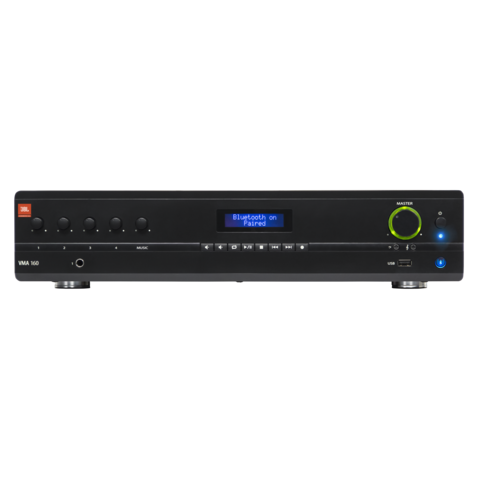 JBL VMA Series Mixer Power Amplifier (VMA 160/1120/1240) - VMA160 Value Series 1 CH Front medium 1