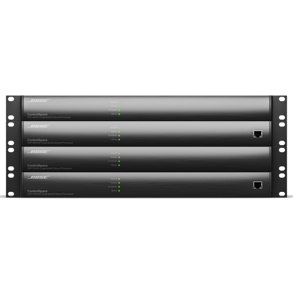 Bose ControlSpace ESP-880AD - i ControlSpace Stacked Front quarterRes