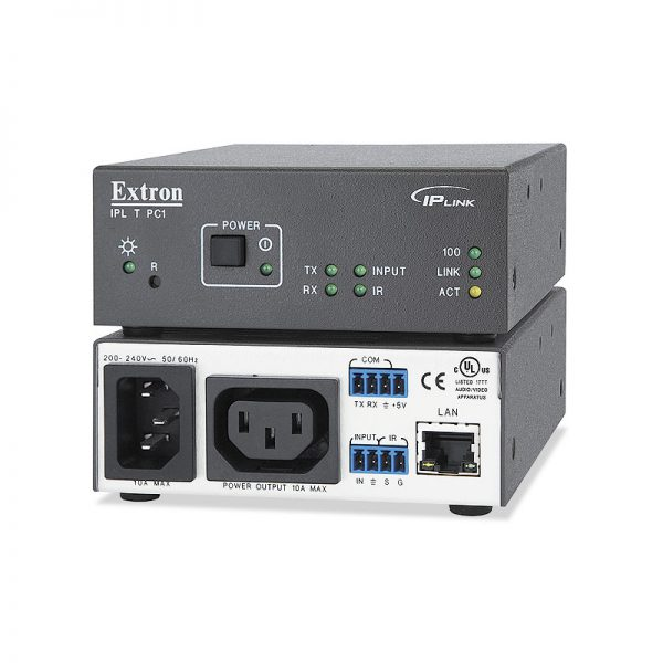 Extron IPL T PC1i IP Link AC Power and Device Controller - ipltpc1i lg