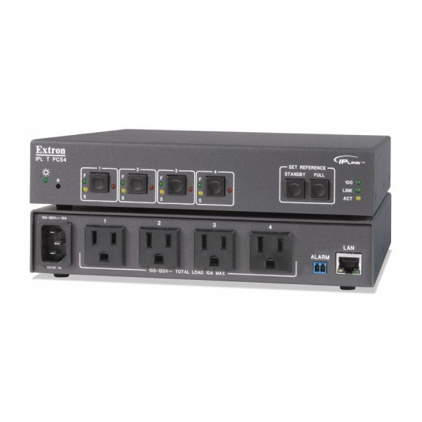 Extron IPL T PCS4 Four Port Power Control and Current Sensor - ipltpcs4 60 544 07