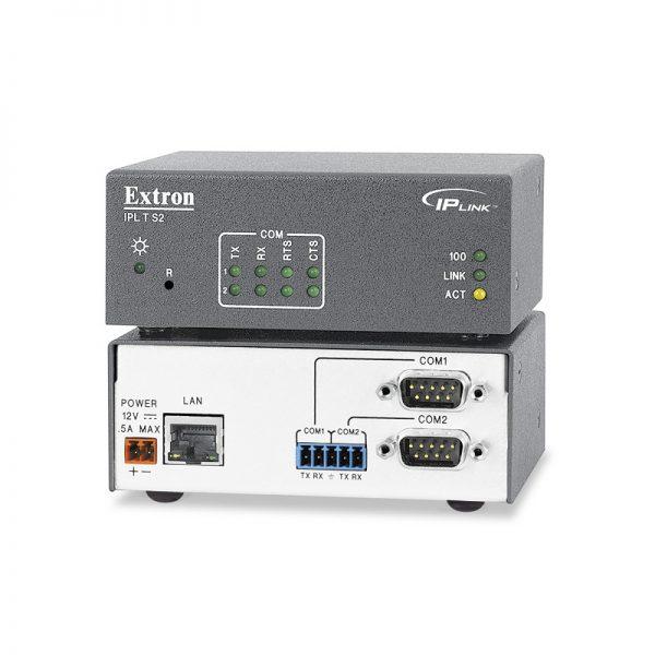 Extron IPL T S2 Two Serial Port IP Link Control Processor - iplts2 lg