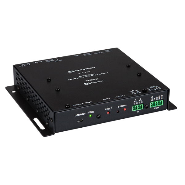 Crestron AM-200 AirMedia® Presentation System 200 - master photo a AM 200 FrontRight15