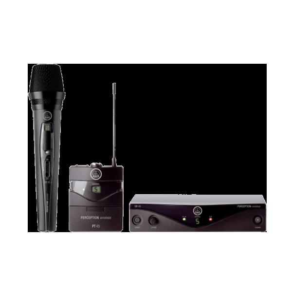 AKG PERCEPTION WIRELESS HIGH-PERFORMANCE WIRELESS MICROPHONE SYSTEM - perception wireless pic