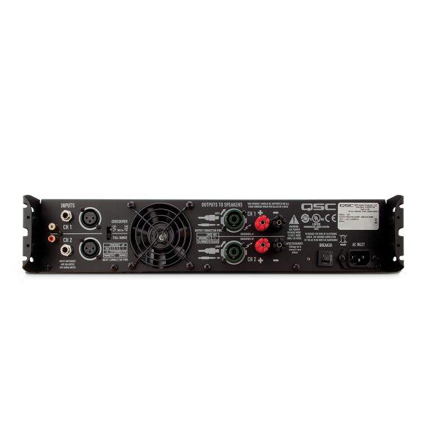 QSC GX Series Power Amplifier (G3/G5/G7) - q amp GX img heroBack