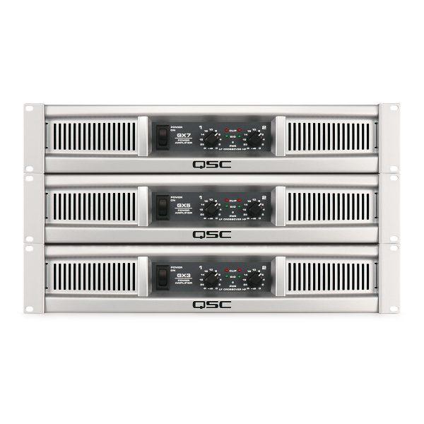 QSC GX Series Power Amplifier (G3/G5/G7) - q amp GX img heroFamily