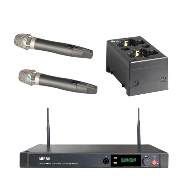 Mipro ACT2412A/ACT24HC*2/MP80 (Digital 2.4G Hands Micro System) - v1