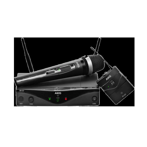 AKG WMS420 PROFESSIONAL WIRELESS MICROPHONE SYSTEM -