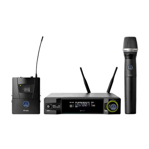 AKG WMS4500 REFERENCE WIRELESS MICROPHONE SYSTEM - wms4500 pic
