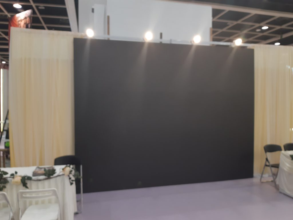 Installation and setup for Wedding Expo - 20190606 192557