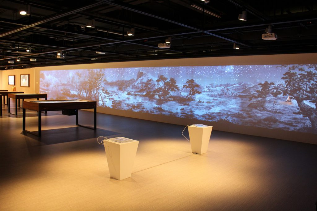 360° projection wall installation - 4