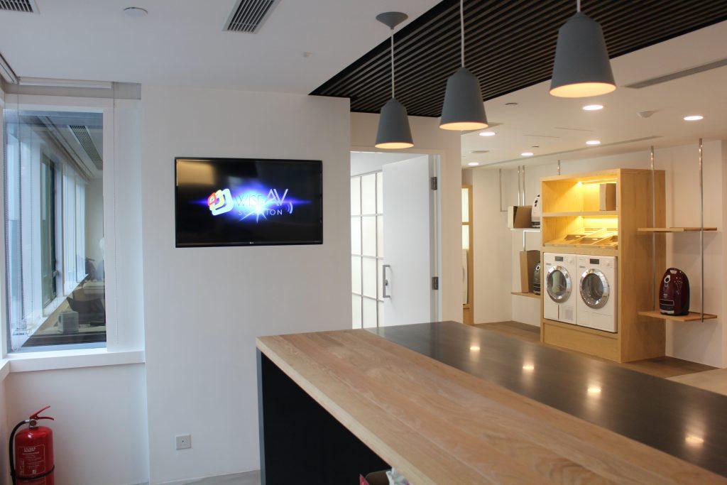 TV installation for Miele Showroom - IMG 1575
