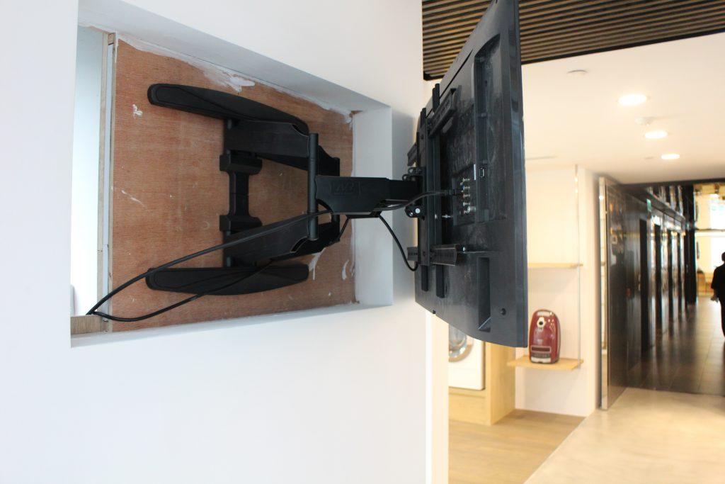 TV installation for Miele Showroom - IMG 1584