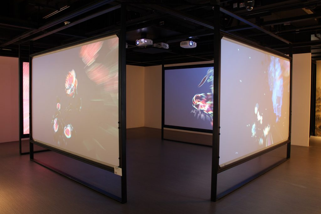 360° projection wall installation - IMG 1682
